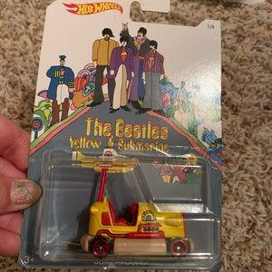 The Beatles yellow submarine hot wheels